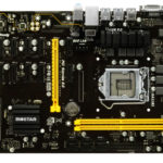 Biostar's latest motherboard for mining cryptocurrency offers 12 GPU slots