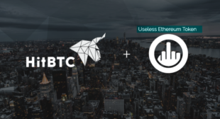 "HitBTC lists ""Useless Ethereum Token"" and receives transaction volume"