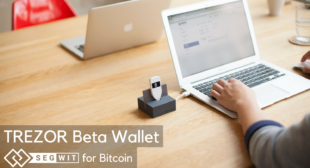 We are rolling out Bitcoin SegWit support in TREZOR Beta Wallet!
