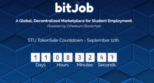 bitJob, A Global, Decentralized Marketplace for Student Employment, powered by Ethereum