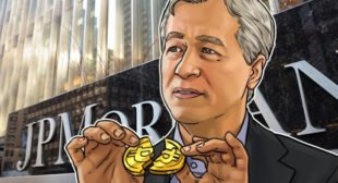 CEO of JP Morgan Chase Warns Govts Will Ban Bitcoin; Crypto 'Worth Nothing'