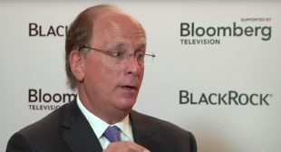 BlackRock CEO Larry Fink Is a 'Big Believer' in Cryptocurrency