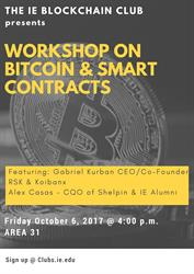 "Workshop ""How Bitcoin works"""
