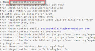 An Amazon coin? Amazon.com registers cryptocurrency domain names