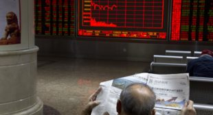 Chinese stocks fall to three-month low, but Bitcoin hits new high – business live