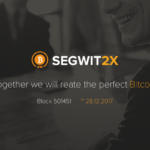 A week is left for BITCOIN hard fork Segwit2X to occur