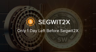 Segwit2X Futures Beat All Records: Fork Incteased by 75% In One Day
