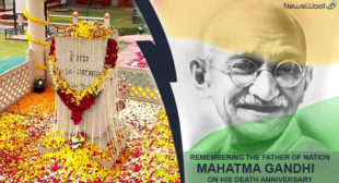 Nation pays tribute to Mahatma Gandhi on his 70th Death Anniversary