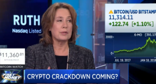 Bitcoin is 'something regulators need to deal with but not ban,' says former FDIC chair