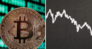 Bitcoin price hits $9000 highest value for a week before cryptocurrency crash continues