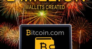 Bitcoin.com Online Wallet Enjoys Two Million Digital Wallets Established