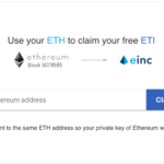 ETI free tokens to ETH holders