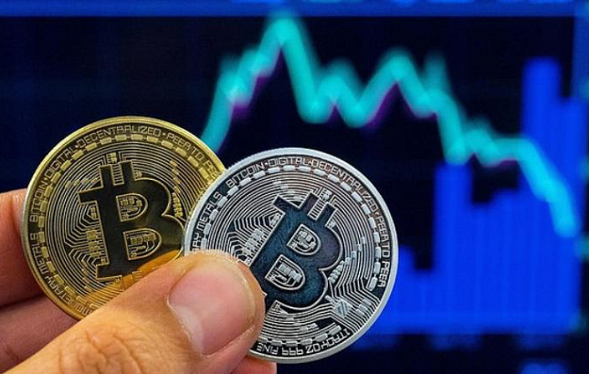 silver and gold btc